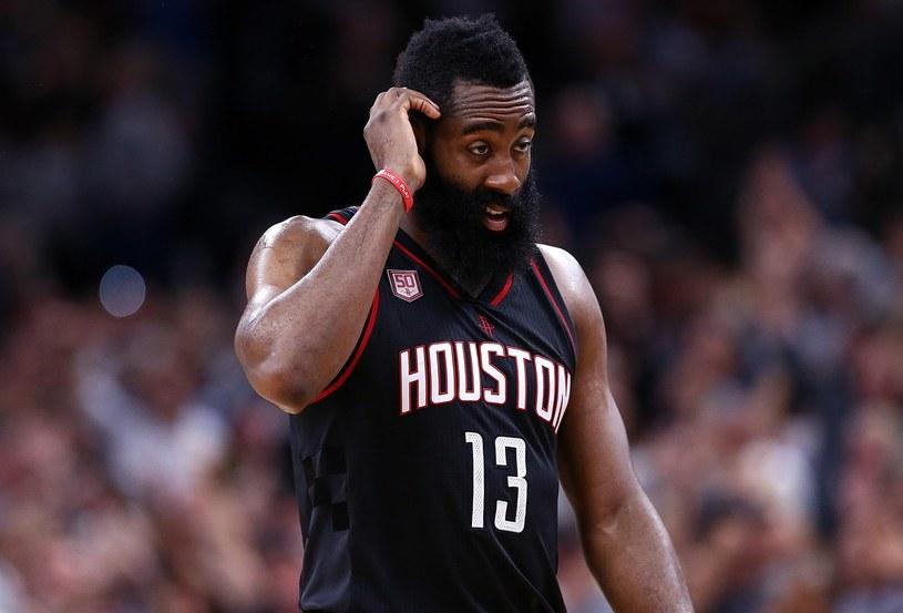 James Harden jest jednym z liderów Houston Rockets /AFP