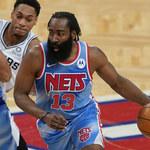James Harden wrócił do gry w świetnym stylu. Nets ograli Spurs