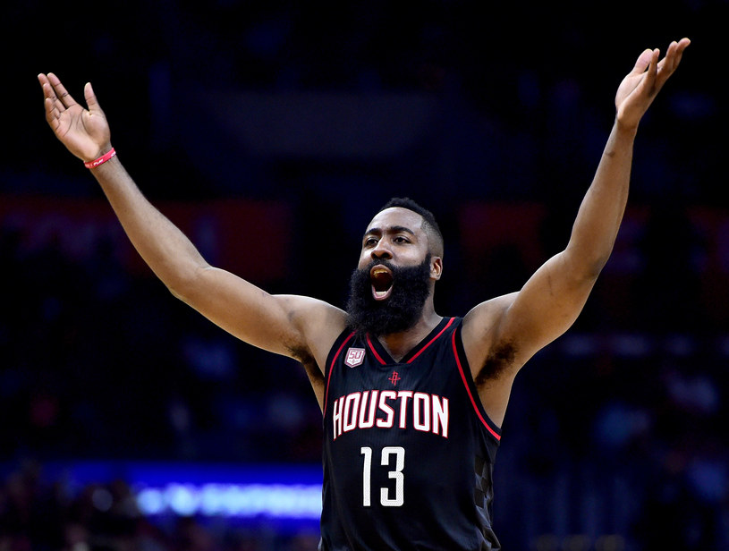 James Harden z Houston Rockets /Harry How /Getty Images