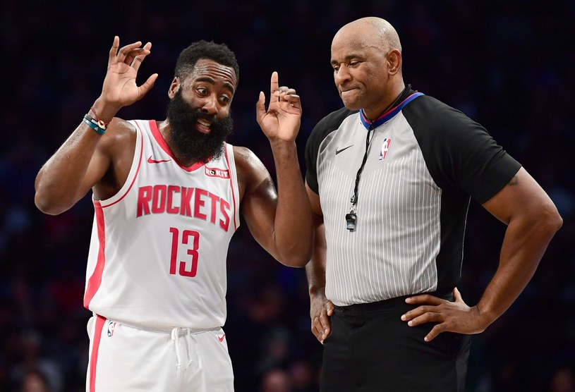 James Harden z Houston Rockets /AFP