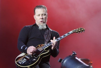 James Hetfield (Metallica) /arch. AFP