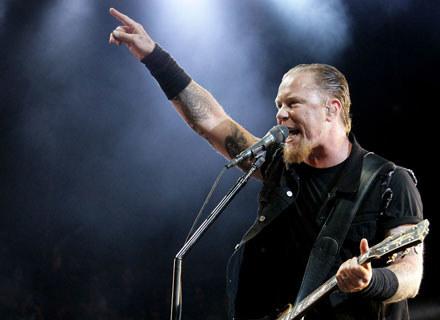 James Hetfield (Metallica) /arch. AFP