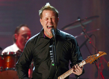 James Hetfield, wokalista Metalliki - fot. Michael Loccisano /Getty Images/Flash Press Media
