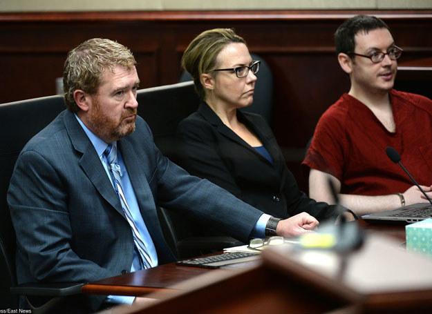 James Holmes (po prawej) /AP/FOTOLINK /East News