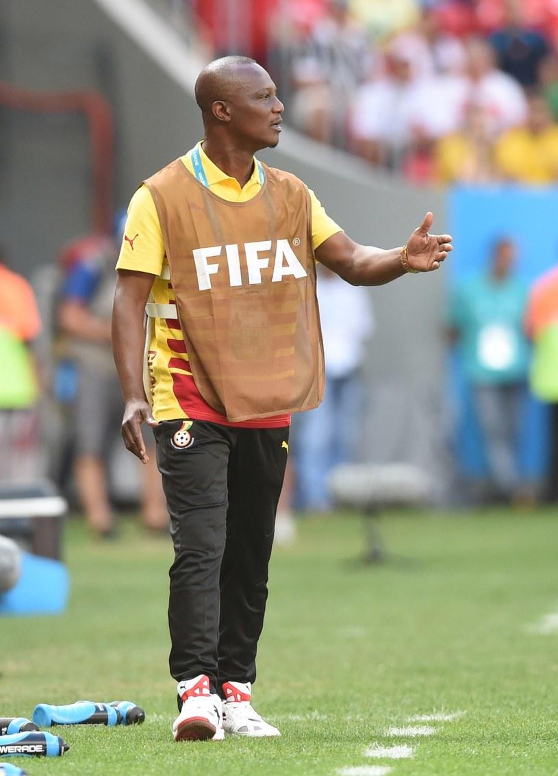 James Kwesi Appiah podczas meczu Ghana - Portugalia na mundialu w Brazylii /AFP