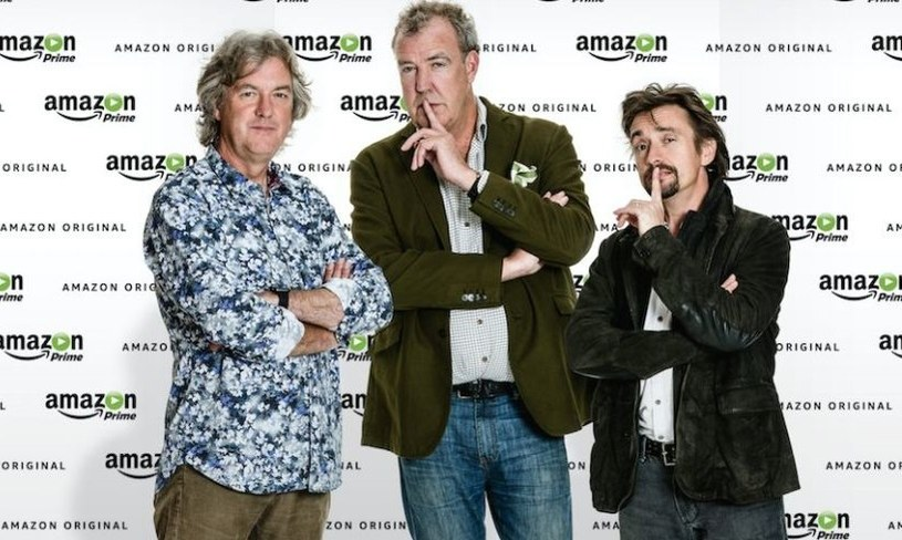 James May, Jeremy Clarkson i Richard Hammond /