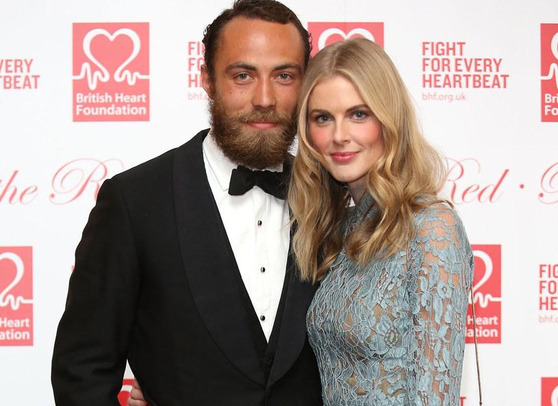 James Middleton i Donna Air - jeszcze jako para /Getty Images
