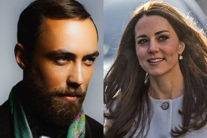 James Middleton i księżna Kate /Getty Images