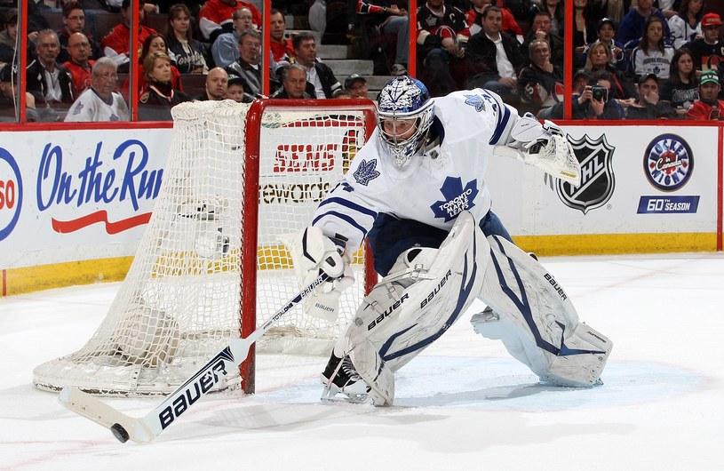 James Reimer z Toronto Maple Leafs obronił 49 strzałów /AFP