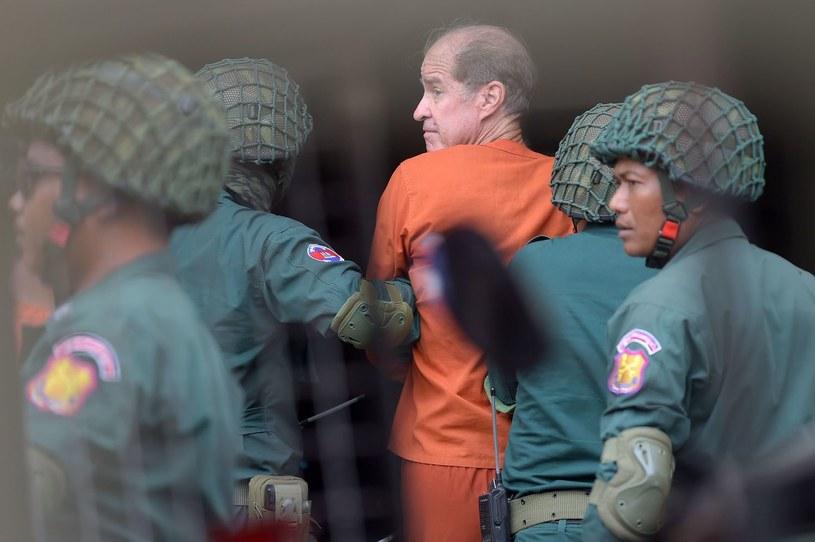 James Ricketson usłyszał wyrok sześć lat pozbawienia wolności /TANG CHHIN SOTHY /AFP