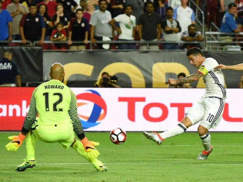James Rodriguez podczas czerwcowego Copa America /AFP