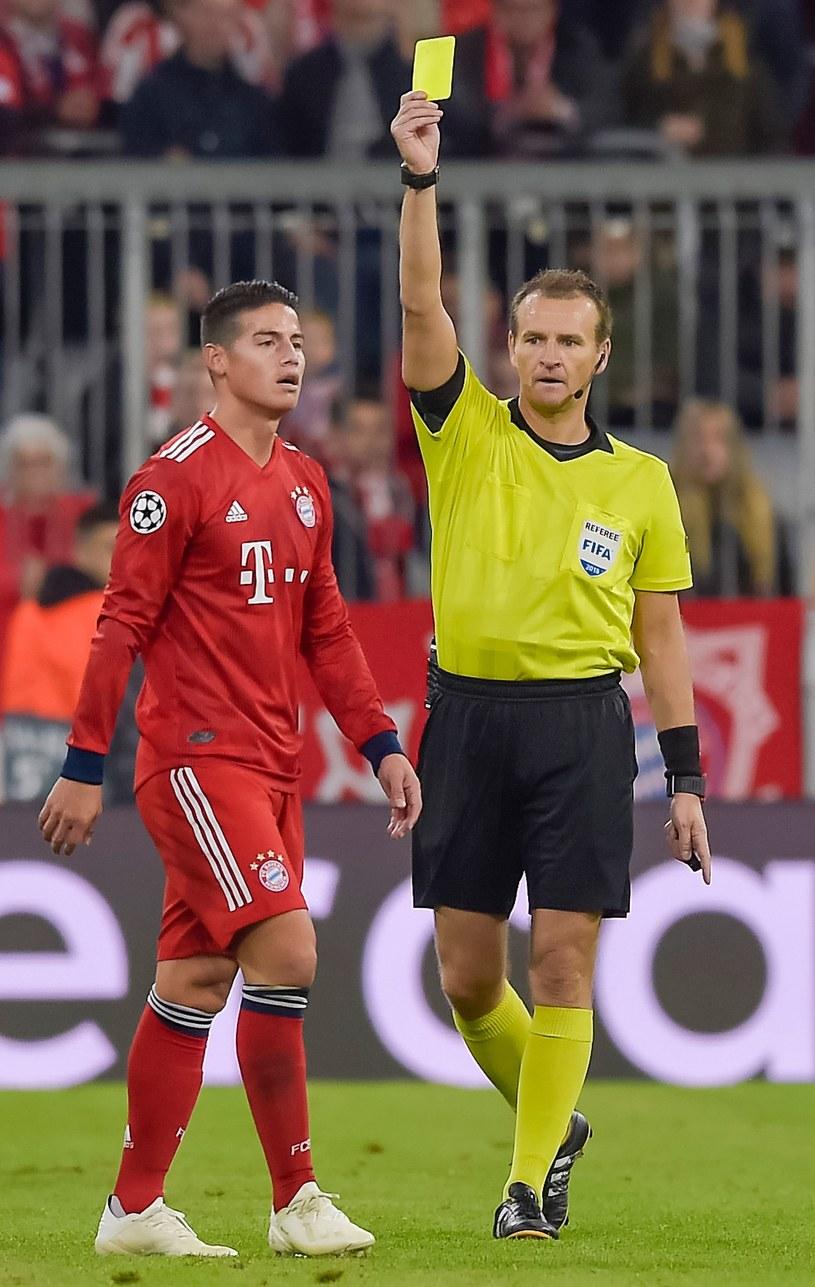James Rodriguez podczas meczu z Ajaksem /AFP