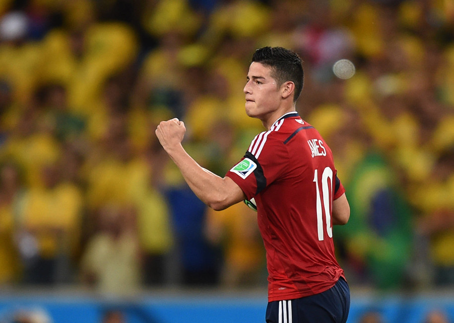 James Rodriguez /DPA/Marius Becker /PAP