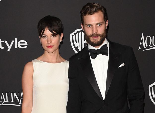 Jamie Dornan i Amelia Warner /Getty Images