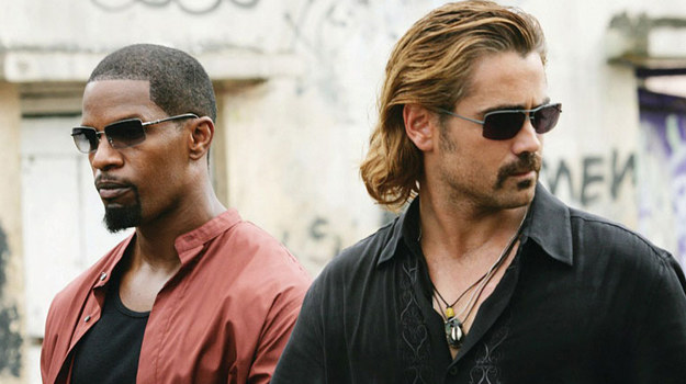 """Jamie Foxx i Colin Farrell w filmie """"Miami Vice"""" /materiały dystrybutora"""