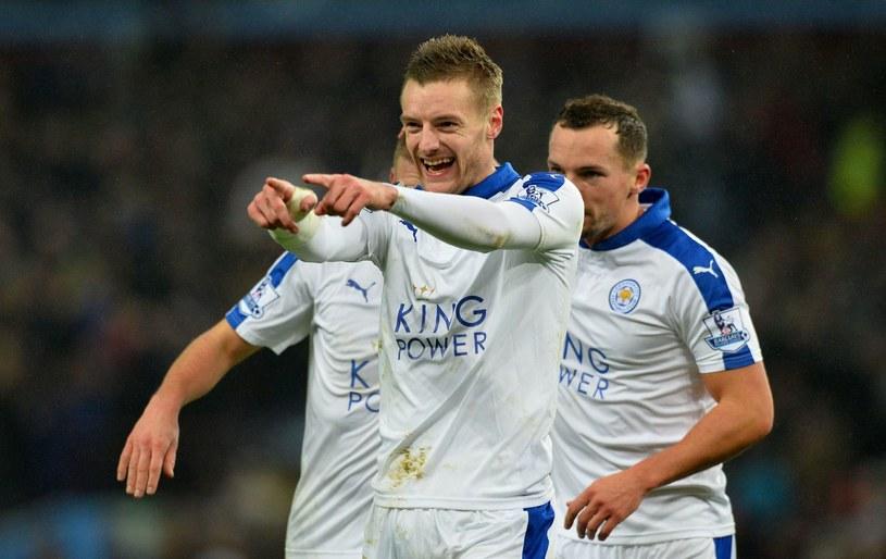 Jamie Vardy cieszy się z kolejnych bramek /AFP