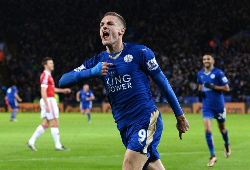 Jamie Vardy, gwiazda Leicester City /AFP