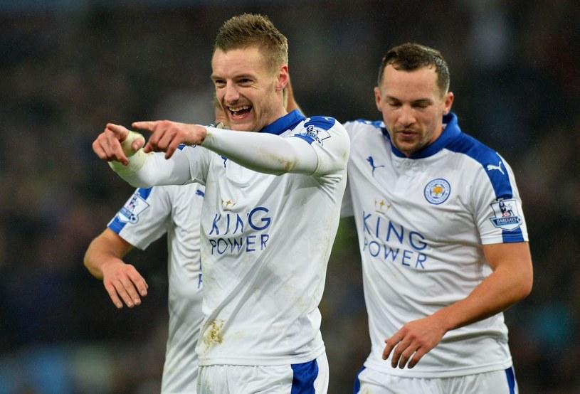 Jamie Vardy (z lewej) to jedna z gwiazd Leicester City /AFP