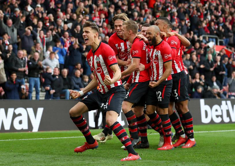 Jan Bednarek i jego koledzy z Southampton FC /Getty Images