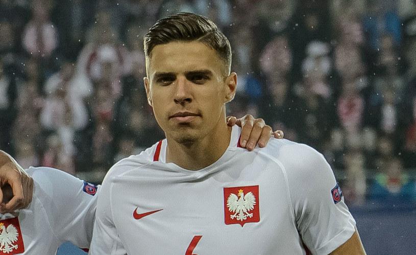 Jan Bednarek podczas Euro U-21 w Polsce /Wojciech Pacewicz /PAP