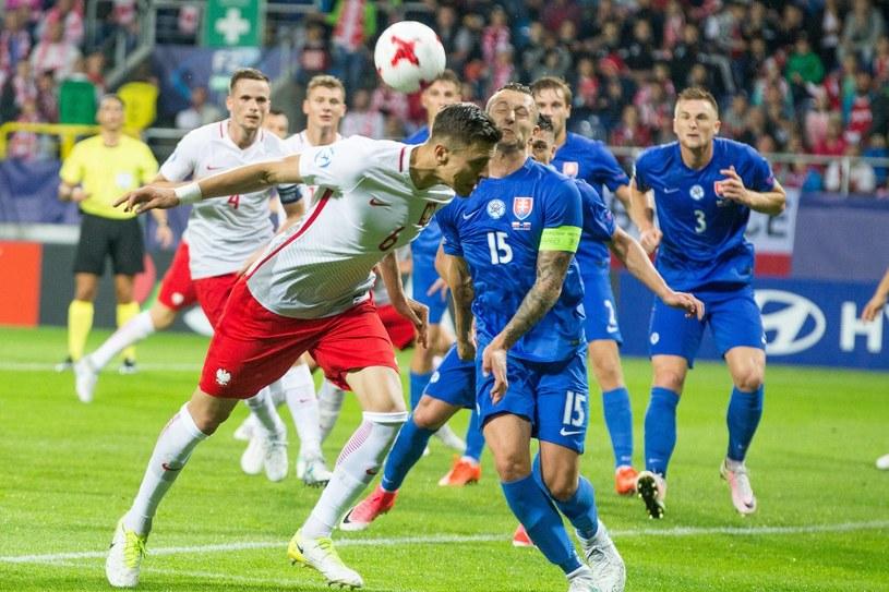 Jan Bednarek (z lewej) w barwach młodzieżowej reprezentacji Polski /Andrzej Iwańczuk /East News