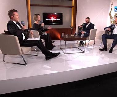 Jan Błachowicz i Piotr Sierzputowski po 86. Plebiscycie Przeglądu Sportowego i Polsatu. Wideo