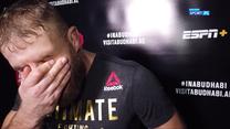 """Jan Błachowicz na gorąco po zdobyciu pasa UFC. """"Będę nosił go przez miesiąc!"""". Wideo"""