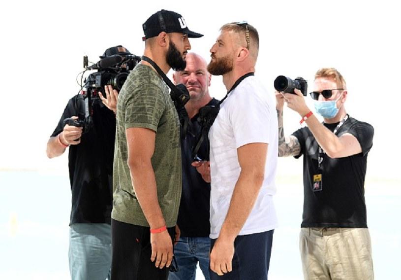 """MMA. Jan Błachowicz po """"face to face"""" z Reyesem: Nie ma między nami złej krwi, jest to element pewnej gry - Sport w INTERIA.PL"""