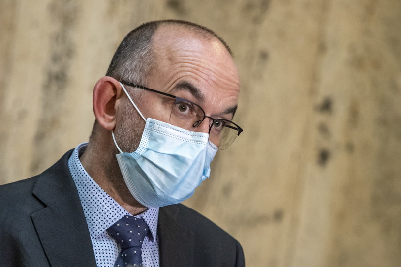 Jan Blatny przestał pełnić funkcję ministra zdrowia /Martin Divisek /PAP/EPA