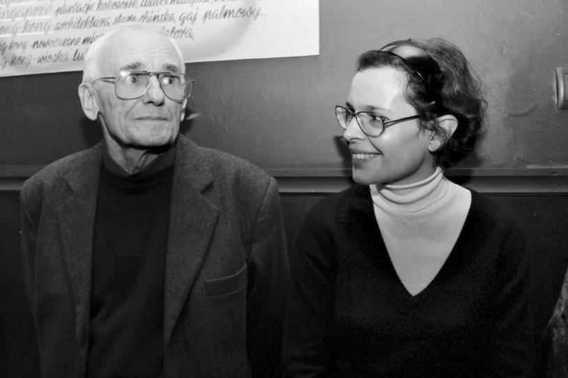 Jan Borkowski i Agata Passent /Grażyna Myślińska /Agencja FORUM