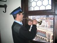 Jan Boroń ma dzisiaj dyżur na wieży /RMF
