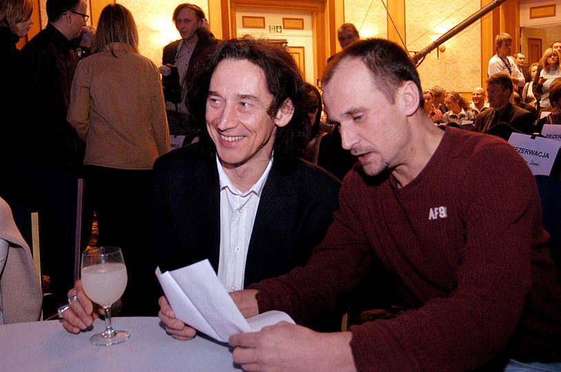 Jan Borysewicz i Paweł Kukiz /- /AKPA