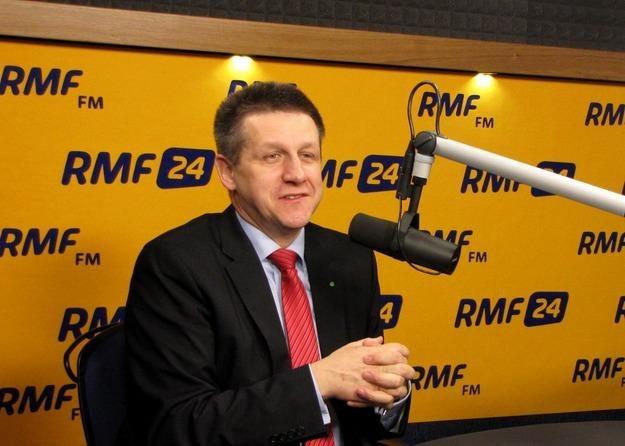 Jan Bury, szef klubu Polskiego Stronnictwa Ludowego /RMF