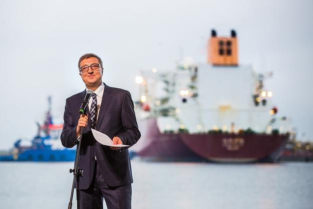Jan Chadam, prezes Gaz System i Polskiego  LNG /Informacja prasowa