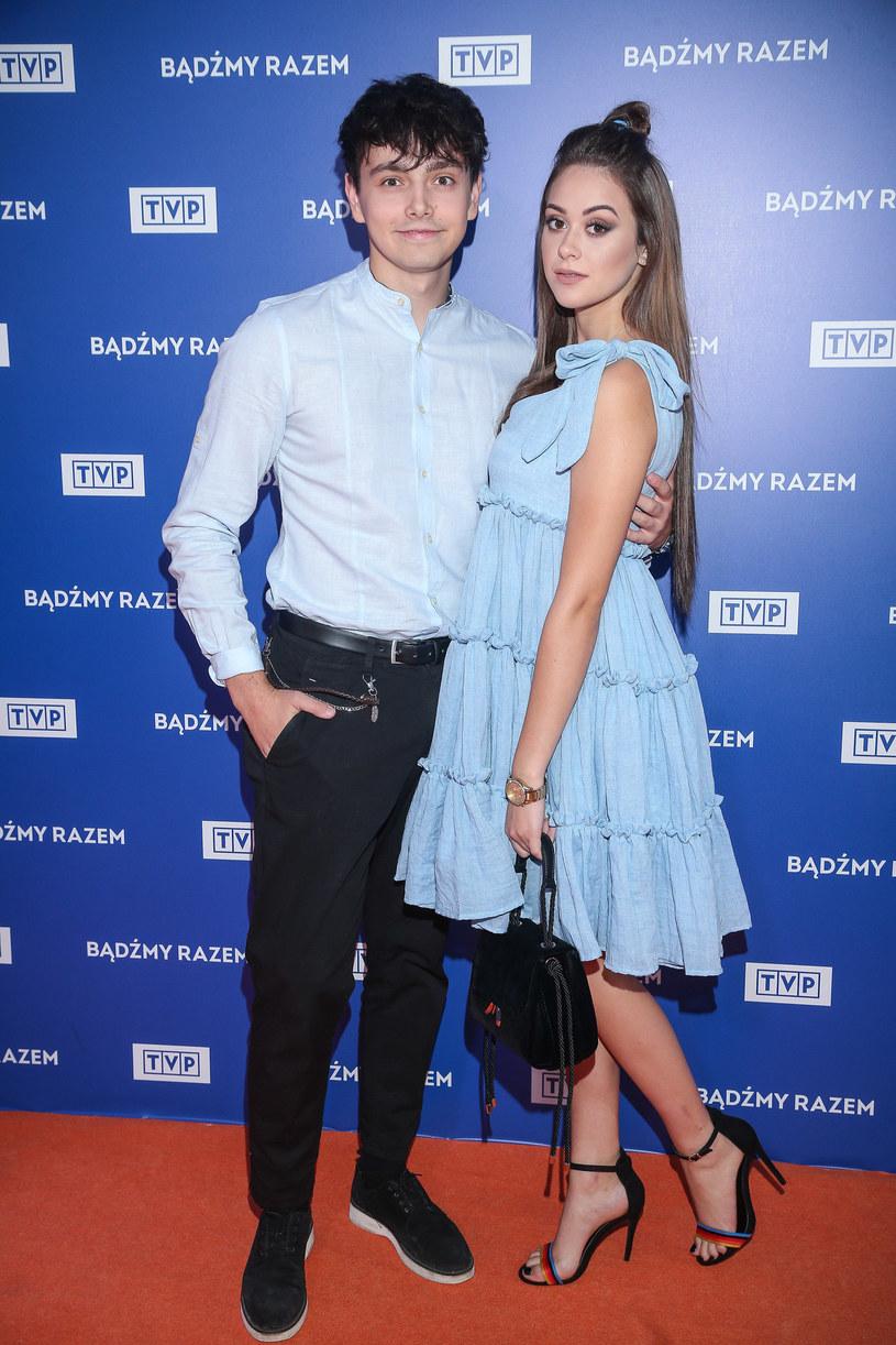 Jan Dąbrowski i Sylwia Przybysz /Kamil Piklikieiwcz /East News