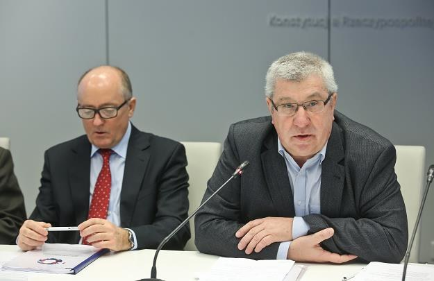 Jan Dworak (P) i Krzysztof Luft /PAP