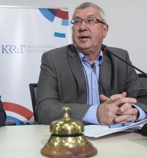 Jan Dworak, przewodniczący KRRiT /PAP
