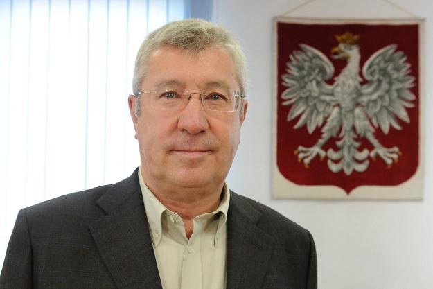 Jan Dworak, szef KRRiT. Fot. WOJTEK LASKI /Agencja SE/East News