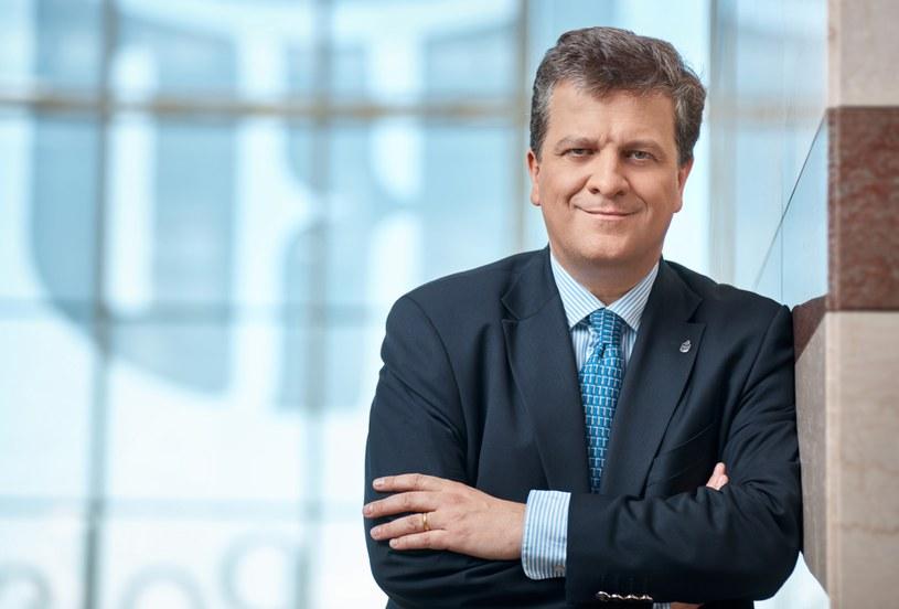 Jan Emeryk Rościszewski, obecny prezes PKO BP /Informacja prasowa