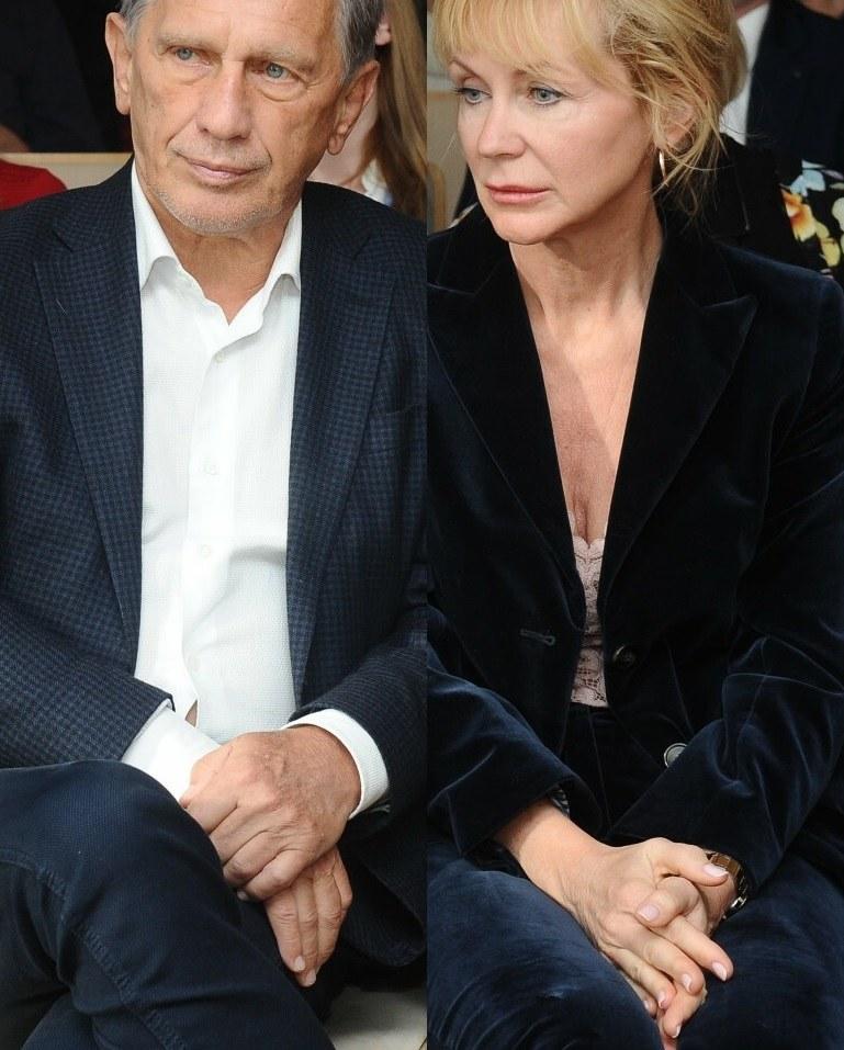 Jan Englert i Beata Ścibakówna /VIPHOTO /East News