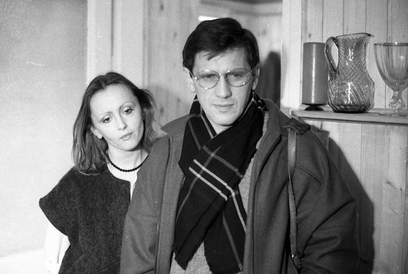 Jan Englert i Dorota Pomykała /INPLUS /East News
