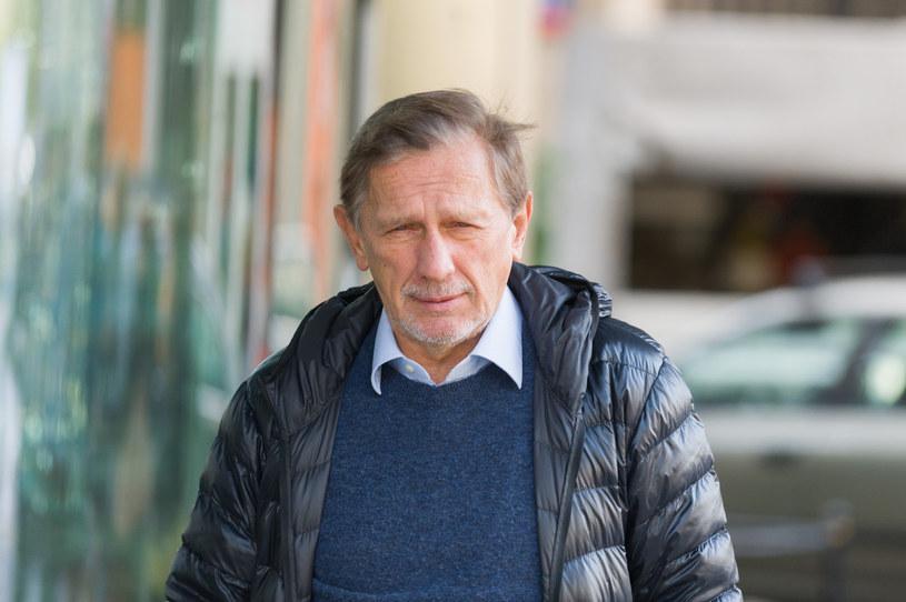 Jan Englert niedawno pojawił się w mediach społecznościowych /Artur Zawadzki/REPORTER /Reporter