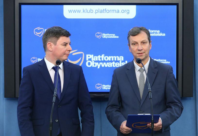 Jan Grabiec i Andrzej Halicki /Stanisław Kowalczuk / East News /East News