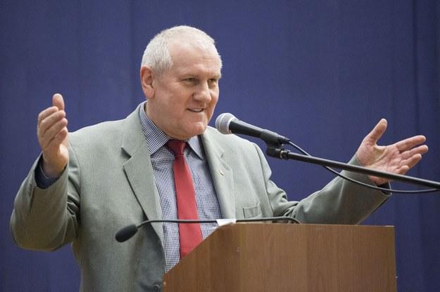 Jan Guz, szef OPZZ /Maciej Luczniewski /Reporter