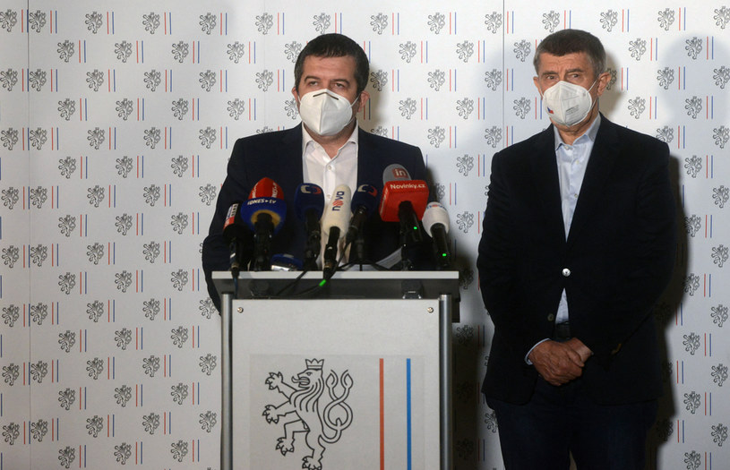 Jan Hamaczek (z lewej) i Andrej Babisz /AFP