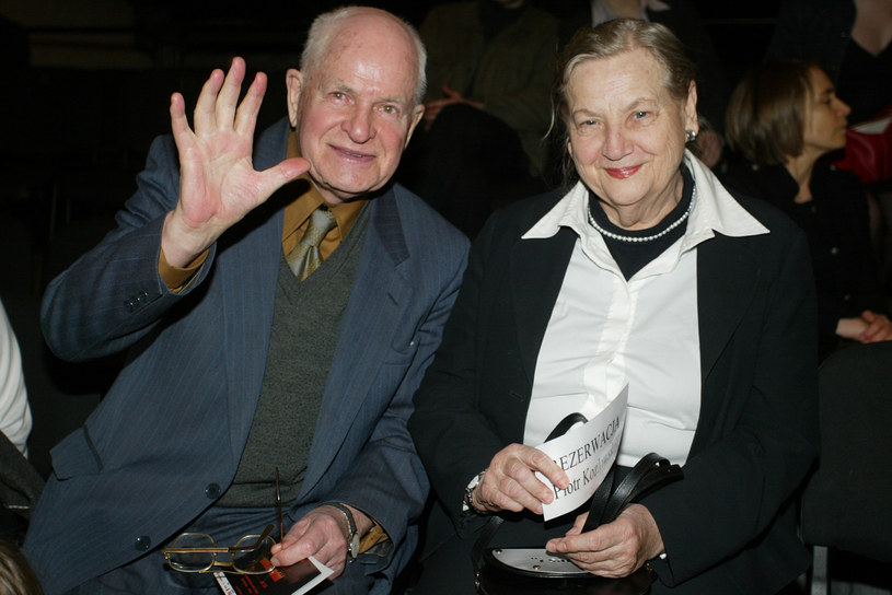 Jan i Halina Machulscy /Palicki /AKPA