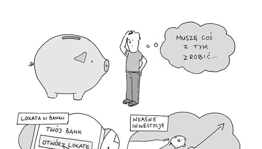 Jan i Janek: Co zrobić z oszczędnościami? (komiks)