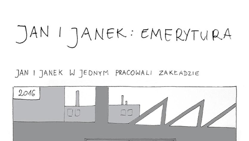 Jan i Janek: Emerytura (komiks)