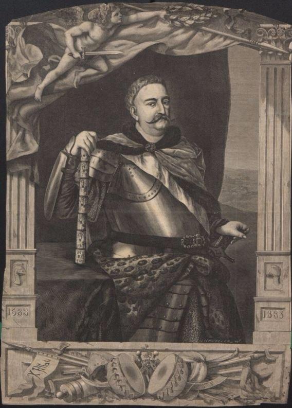 """Jan III Sobieski (ilustracja z """"Tygodnika Powszechnego"""" z 1883 r.) /Biblioteka Narodowa"""