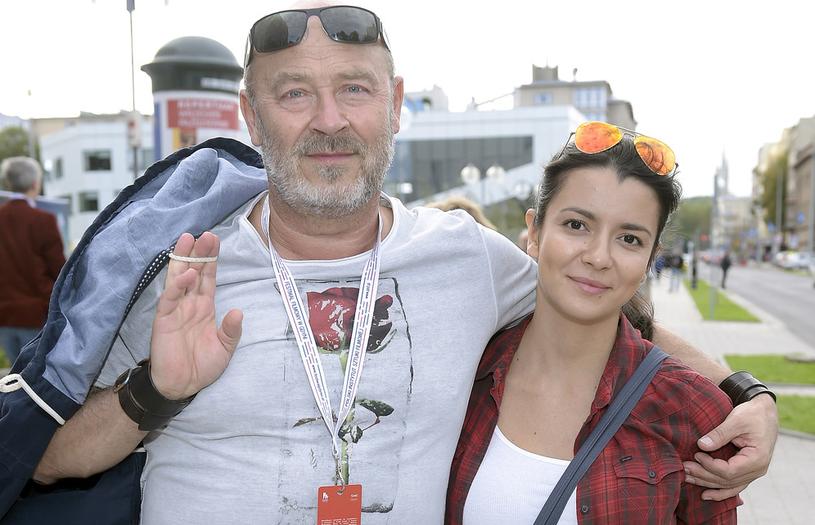 Jan Jakub Kolski z żoną Aleksandrą /Kurnikowski /AKPA